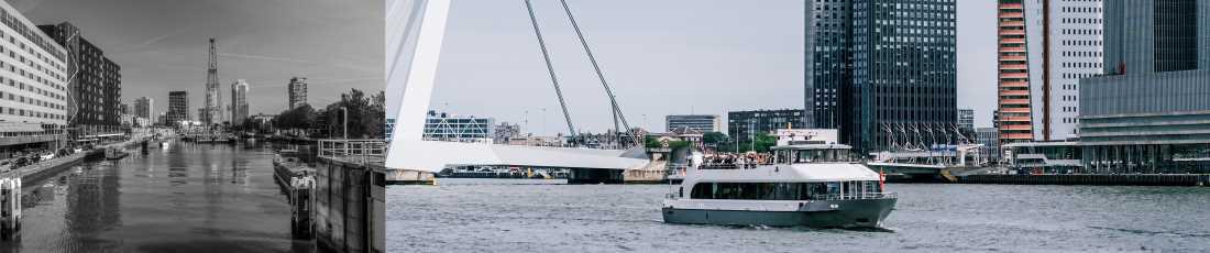 Partyboot Rotterdam opstapplaats
