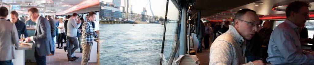 relatiedag op een boot