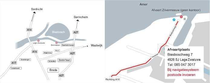 Afvaartplaats Z8 Partyboot Lage Zwaluwe