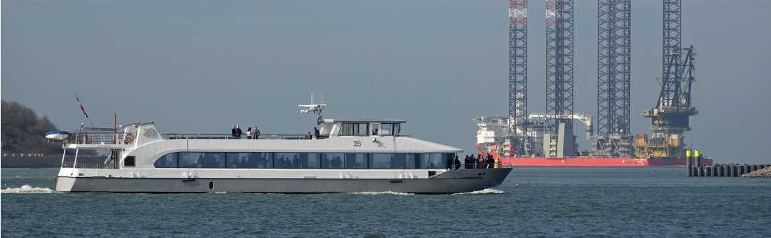 rondvaart MAASVLAKTE ROTTERDAM
